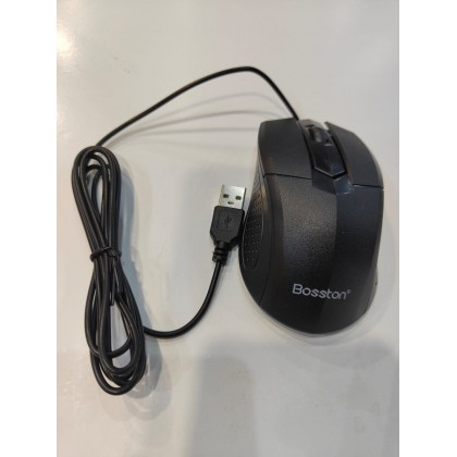 Bosston D5200 USB Wired Keyboard and Mouse Combo for Computer Desktop Laptop Home Office