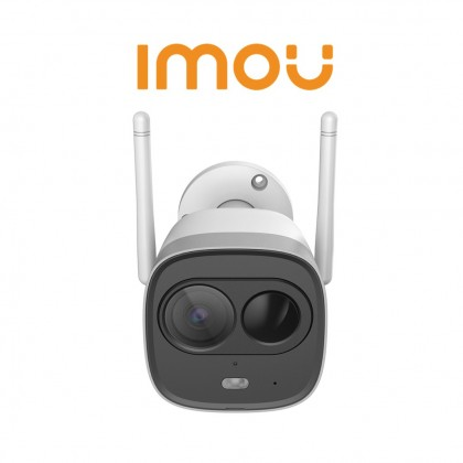 Imou New Bullet 1080P H.265 Active Deterrence Bullet Wi-Fi Camera
